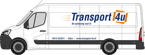 Sneltransport via Transport 4U