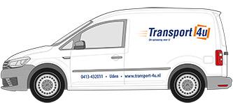 Koerier auto van Transport 4U